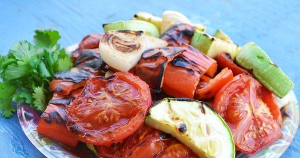 Овочі гриль, запечені в духовці: рецепти з фото покроково