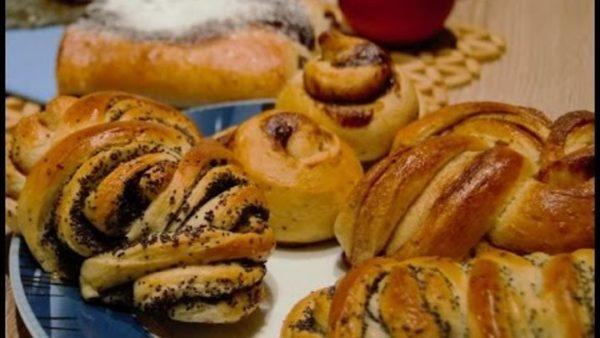 Як зробити красиві булочки з начинкою і без: способи, фото