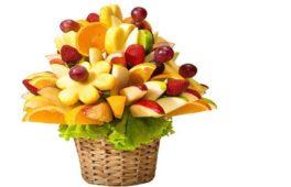 Букети з овочів і фруктів: майстер-клас з покроковим фото