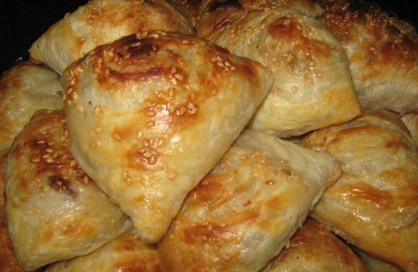 Самса з м'ясом (узбецька, з гарбузом): рецепти, калорійність