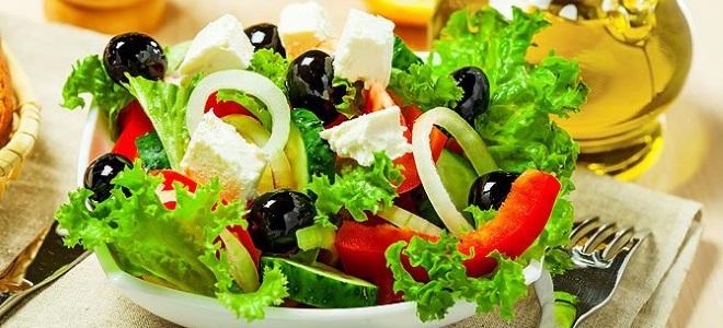 Салат з оливками: покрокові рецепти з фото, калорійність