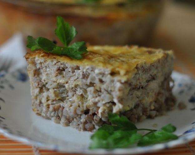 Запіканка з гречки (з фаршем, сирна): покрокові рецепти