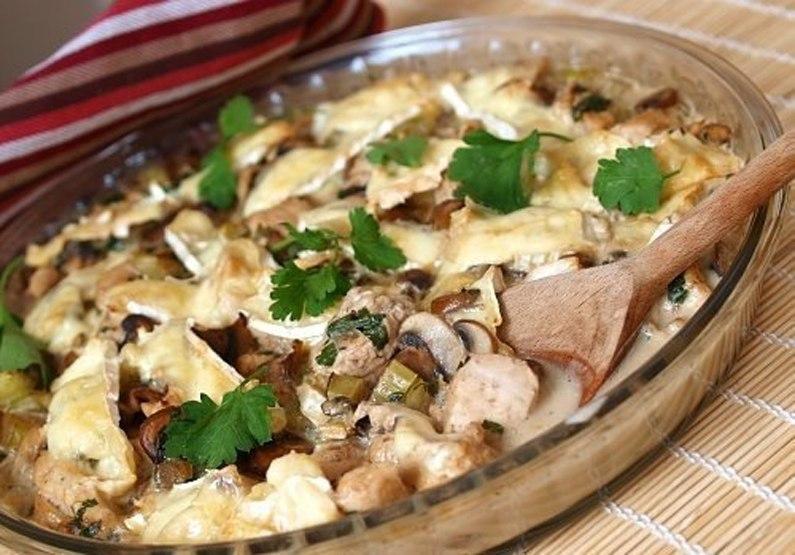 Картопля з грибами в сметані: смажена, тушкована, печена