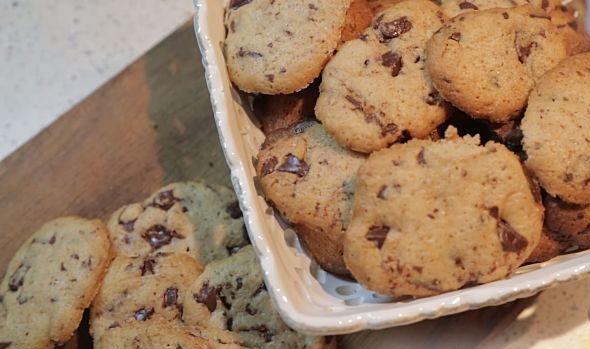 Печиво з шоколадом (американське, вівсяне): рецепти з фото