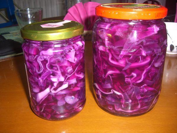 Салат з червонокачанної капусти на зиму: рецепти з фото