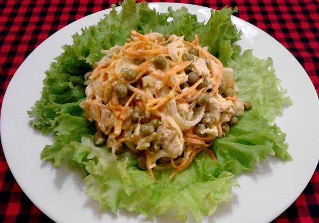 """Салат зі свининою (""""Купецький"""", """"Чоловічий каприз""""): рецепти"""