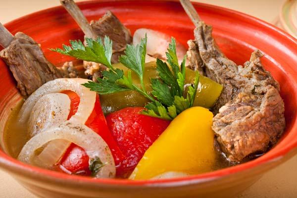 Хашлама з яловичини (по-вірменськи, з картоплею): рецепти
