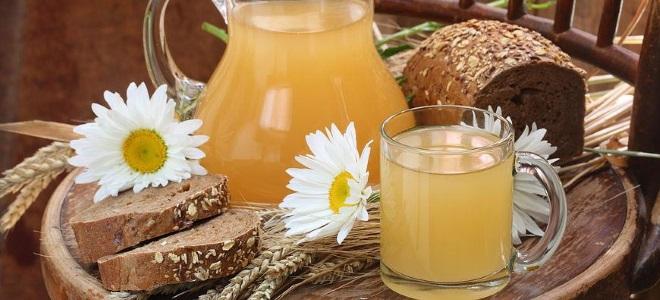 Квас з житнього борошна в домашніх умовах: рецепти покроково