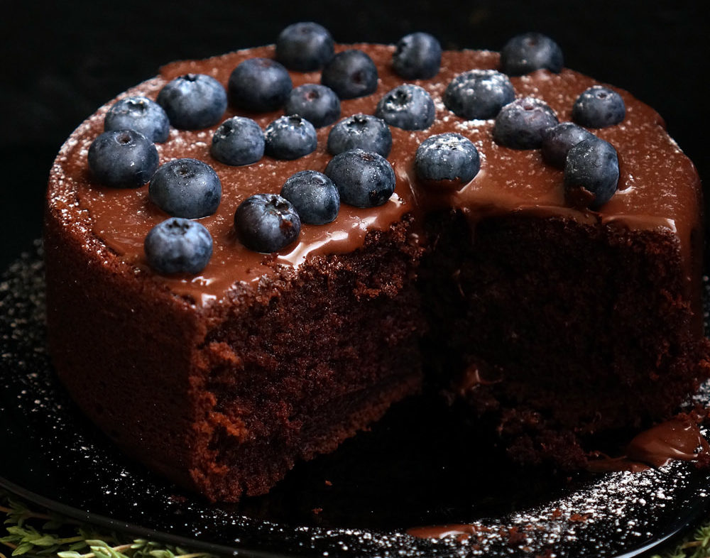 Шоколадний торт на раз, два, три: рецепт з фото