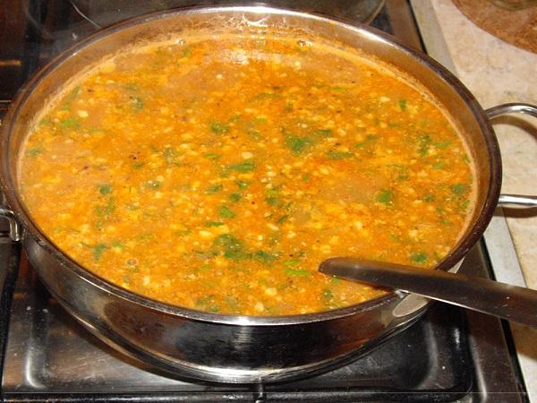 Суп харчо: класичний рецепт з фото покроково, калорійність