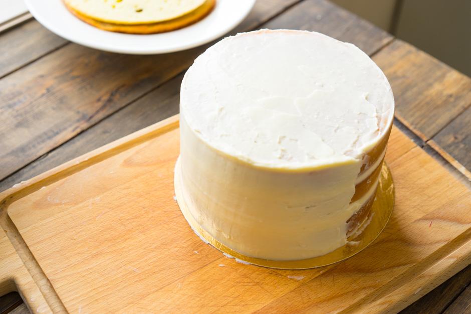 Крем-чіз для покриття і вирівнювання торта: рецепти з фото