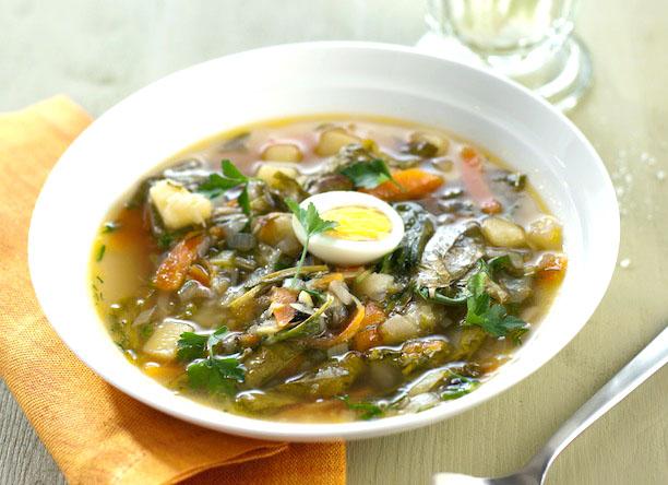 Щі з кропиви (зі щавлем, з яйцем): прості рецепти з фото