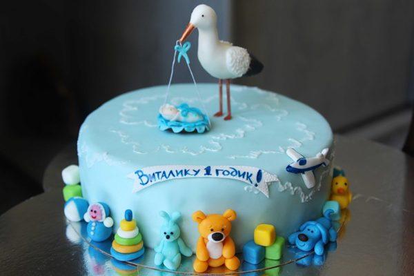 Торт на день народження хлопчика: ідеї, фото, рецепти покроково