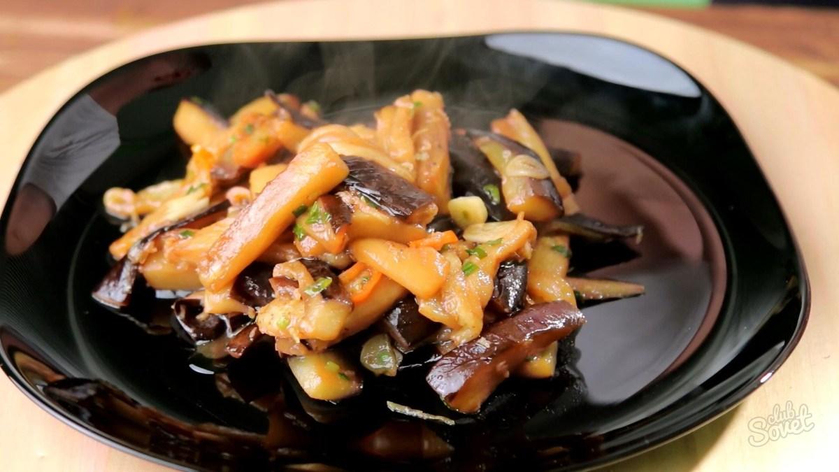 Баклажани по-китайськи: в кисло-солодкому соусі, рецепт з м'ясом