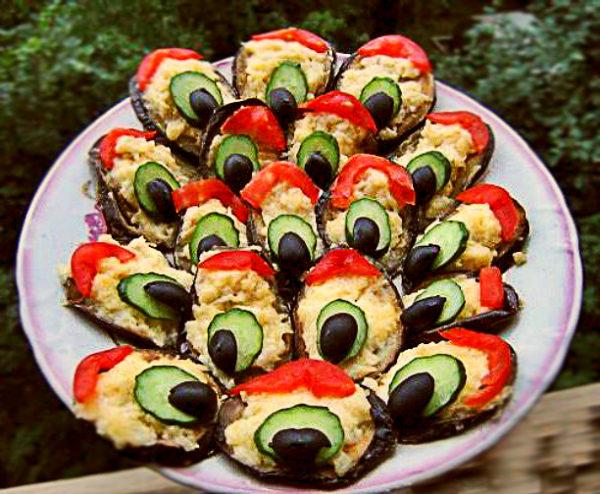 Закуска з баклажанів: різноманітні рецепти з фото, поради