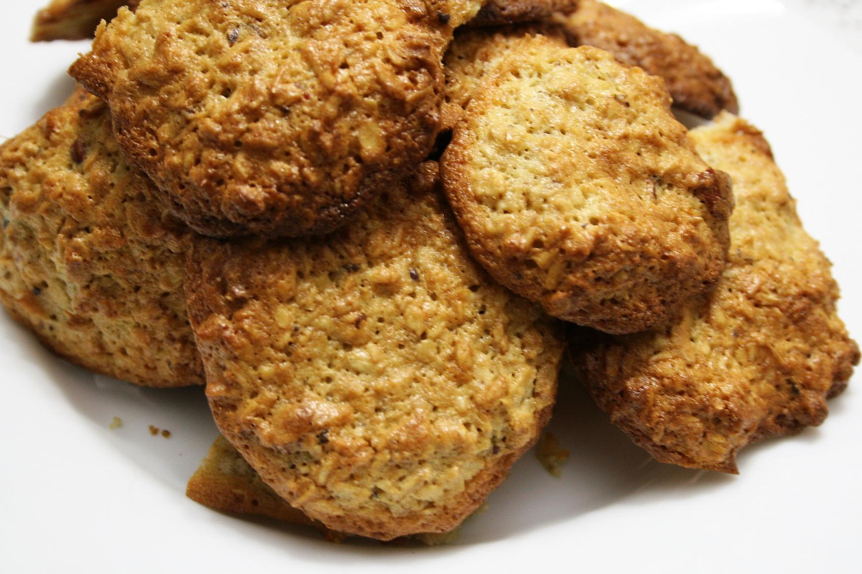 Печиво з геркулесу (дієтичне, з бананами): рецепти