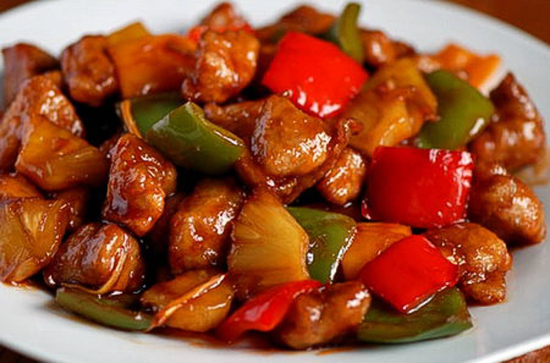 Яловичина по-китайськи: в кисло-солодкому соусі з овочами