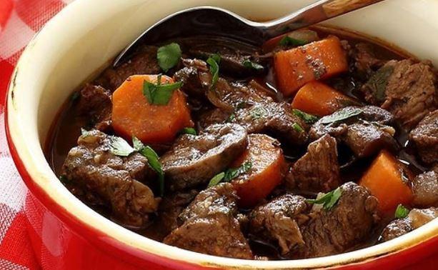 Рагу з яловичини: з овочами і картоплею, з підливою