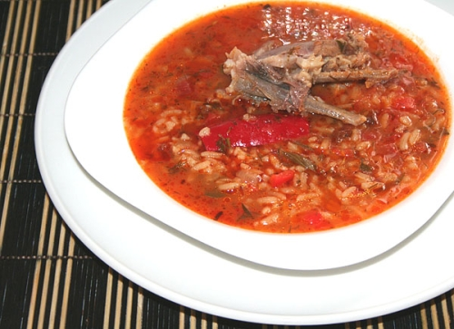 Суп харчо з свинини: рецепт приготування страви з фото