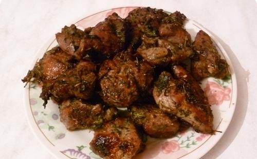 М'ясо по-грузинськи (класичне, в духовці): рецепти з фото