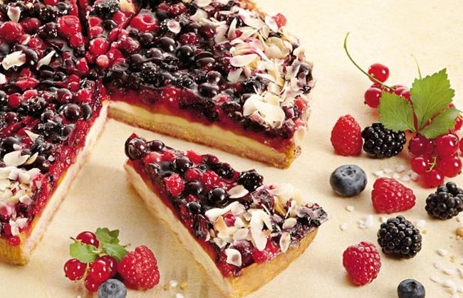 Пісний пиріг з ягодами: рецепти простий випічки з фото