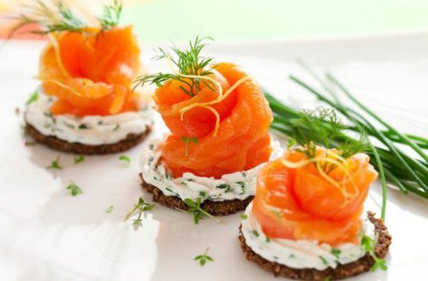 Бутерброди з червоною рибою: рецепти з фото та оформлення