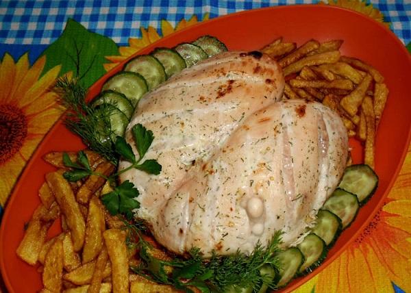 Куряча грудка в кефірі: на сковороді в духовці, мультиварці