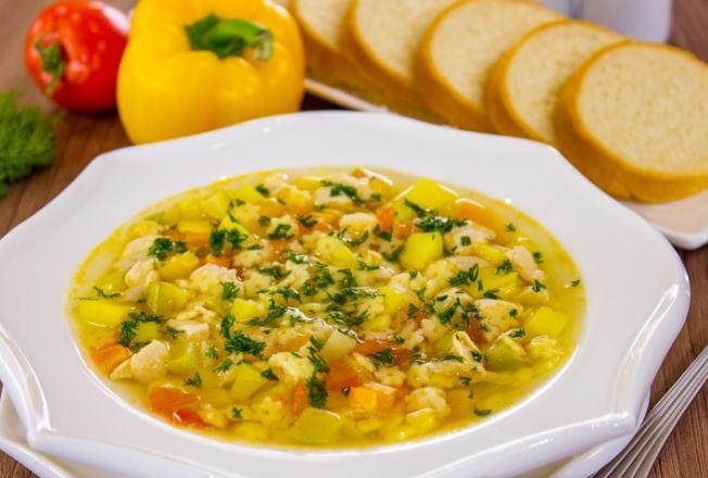 Суп без м'яса (гороховий, овочевий, гречаний): рецепти з фото