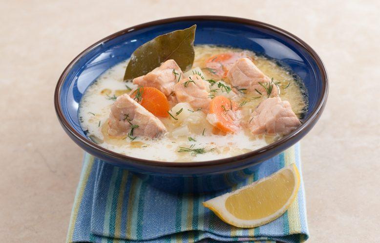 Юшка по-фінськи з вершками: рецепт приготування страви з фото
