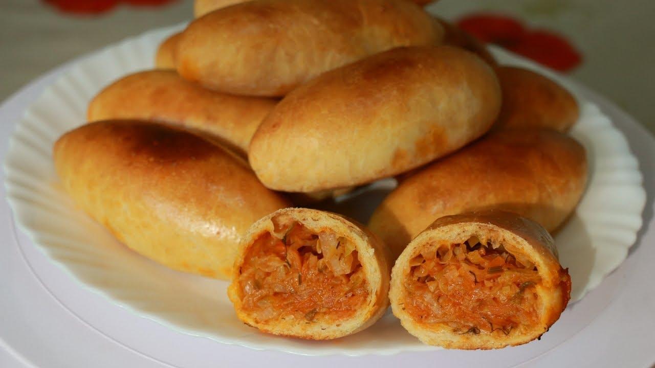 Пиріжки з капустою в духовці: покроковий рецепт з фото