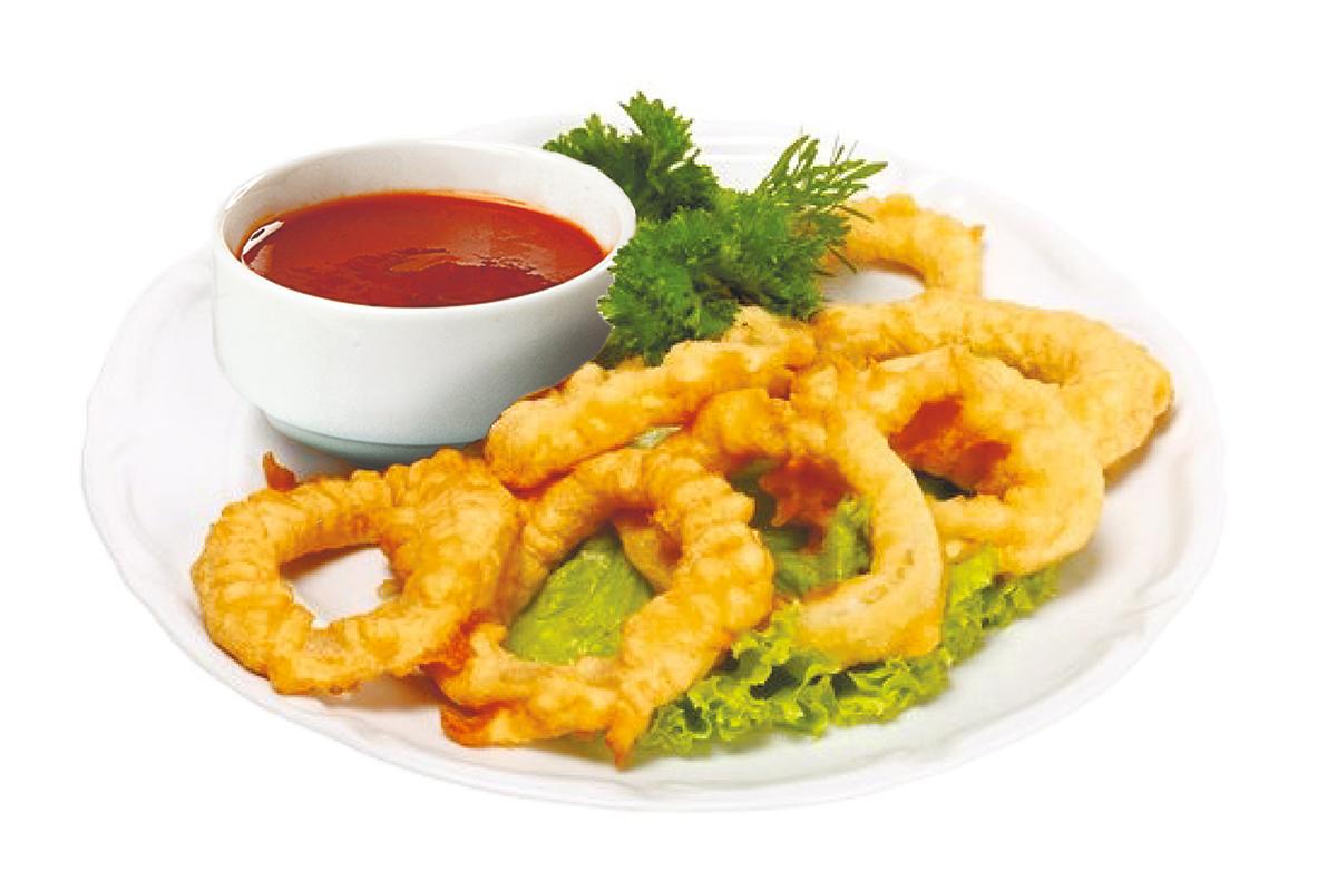 Кільця кальмара в клярі: рецепти смачної закуски з фото