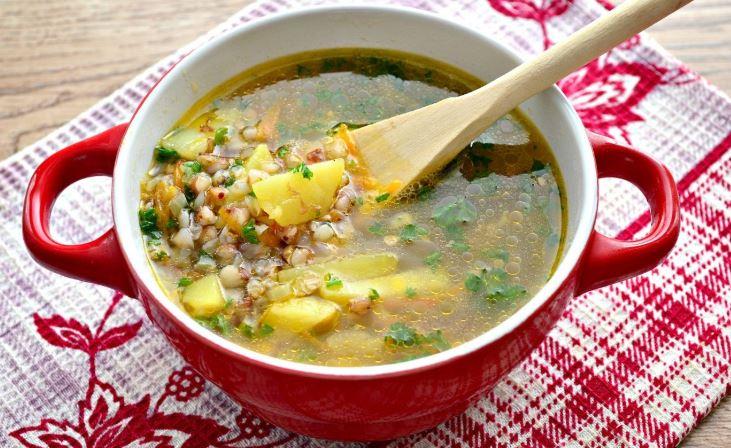Гречаний суп з куркою: прості покрокові рецепти з фото
