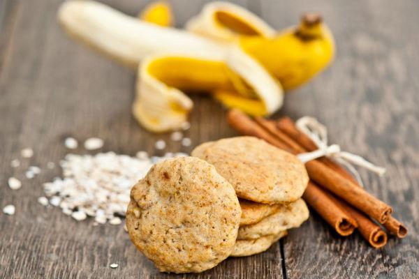 Вівсяне печиво з бананом: дитяче, дієтичне, пісне