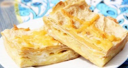 Пиріг з лаваша з сиром в духовці: рецепти з фото покроково