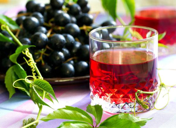Компот з винограду на зиму: прості рецепти покроково з фото