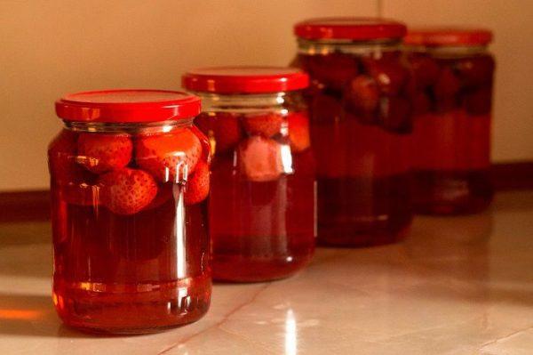 Компот з полуниці на зиму: простий рецепт з фото покроково
