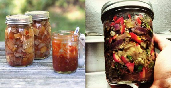 Закуска з баклажанів на зиму: рецепти приготування з фото