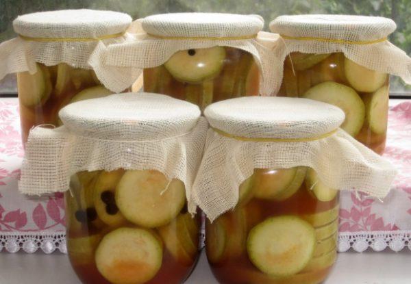 Кабачки з кетчупом «Чилі» на зиму: рецепти з фото покроково