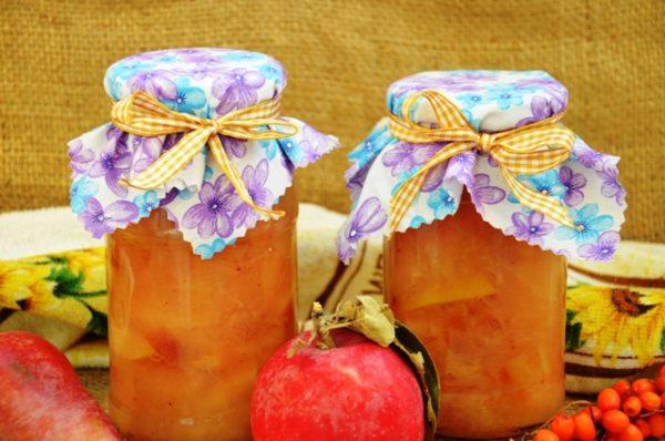 Варення з яблук з апельсинами на зиму: рецепти з фото
