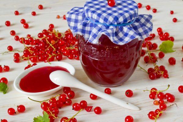Джем з червоної смородини (швидкий, на зиму): рецепти з фото
