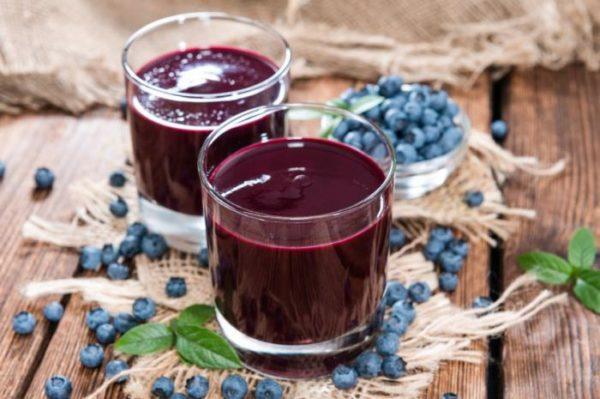 Компот з чорниць річний, на зиму: простий і інші рецепти