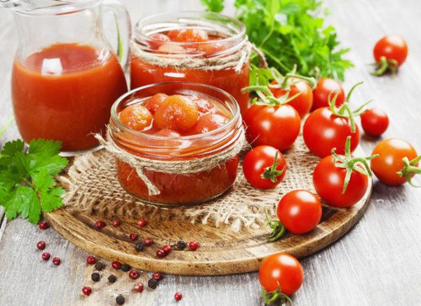 Томати в томатному соку: рецепти заготовок на зиму
