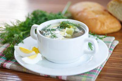 Суп з щавлю: фото-рецепти приготування знаменитого страви