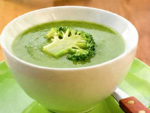 Крем-суп з брокколі: з вершками, з сиром, цвітною капустою