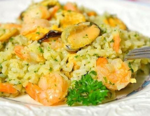 Різотто з морепродуктами: рецепти італійської страви з фото