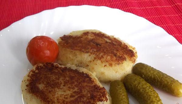 Зрази картопляні з м'ясом: простий покроковий рецепт з фото