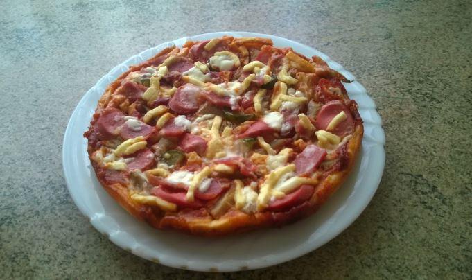 Піца в мультиварці: швидкі покрокові рецепти з фото