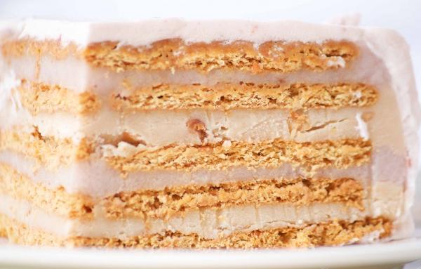 Торт з печива без випічки: прості домашні фото-рецепти