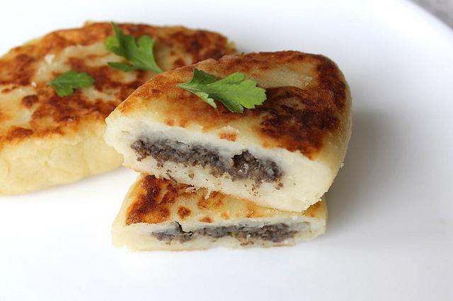 Зрази картопляні з грибами: рецепти з фото, калорійність