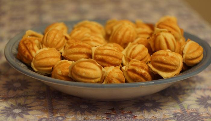 Печиво «Горішки зі згущеним молоком»: старий рецепт, калорійність